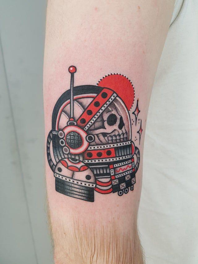 Space Tattoo Ideas 29