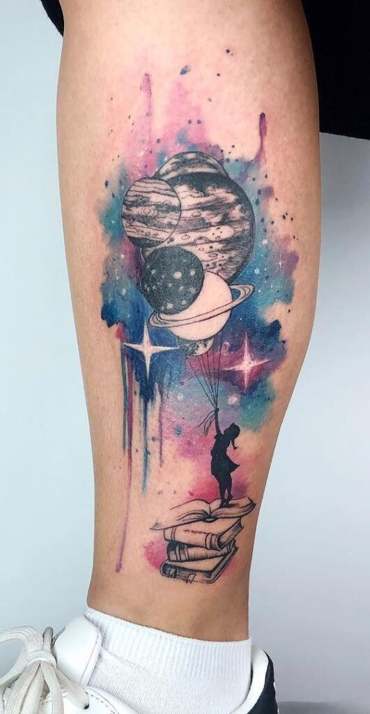 Space Tattoo Ideas 33