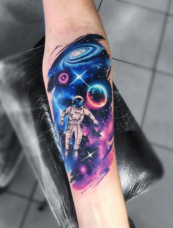 Space Tattoo Ideas 39