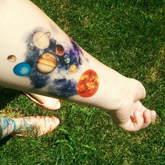 Space Tattoo Ideas 49