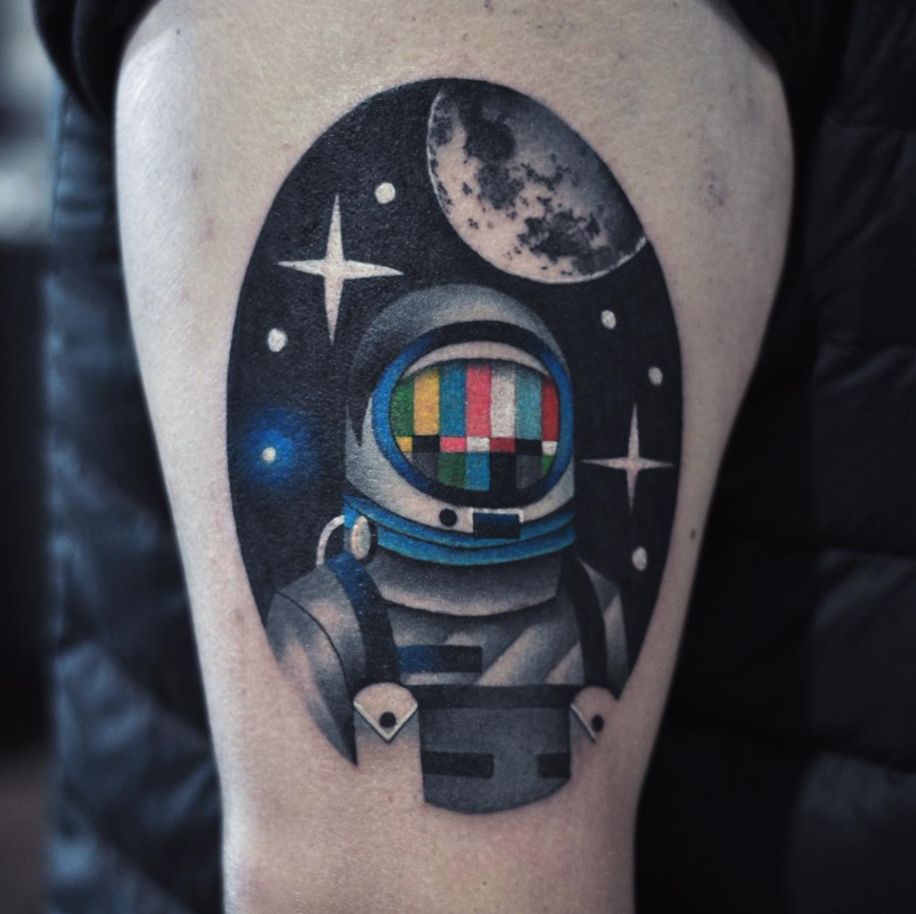 Space Tattoo Ideas 5