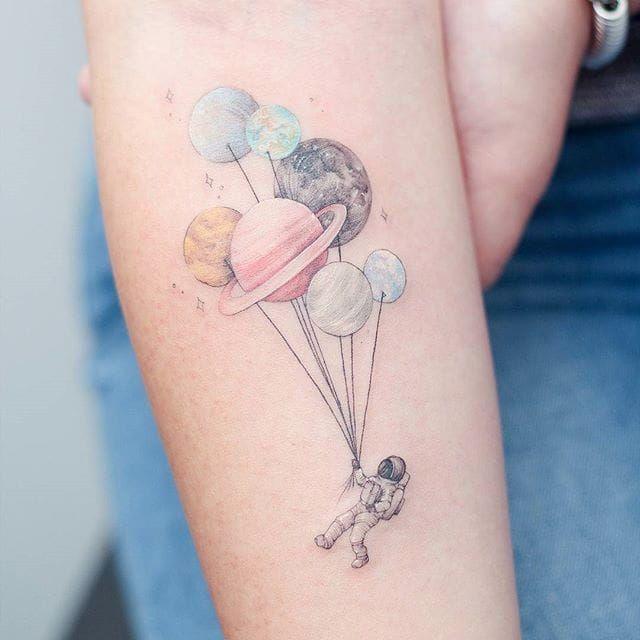 Space Tattoo Ideas 54
