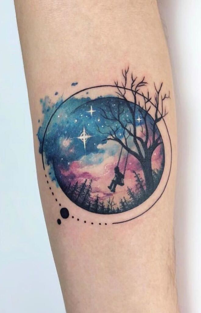 Space Tattoo Ideas 58