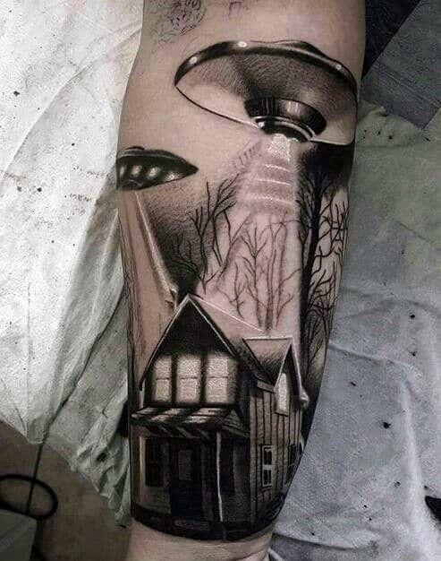 Space Tattoo Ideas 59
