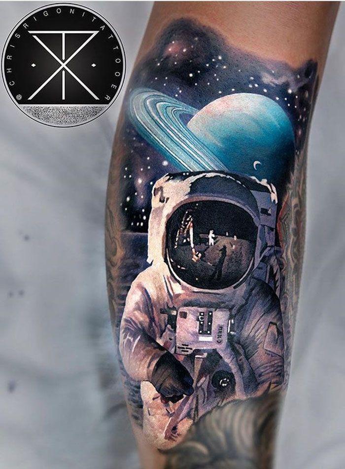 Space Tattoo Ideas 68