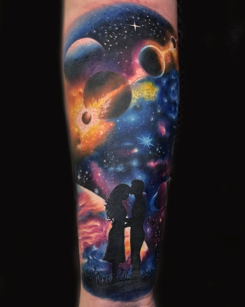 Space Tattoo Ideas 70