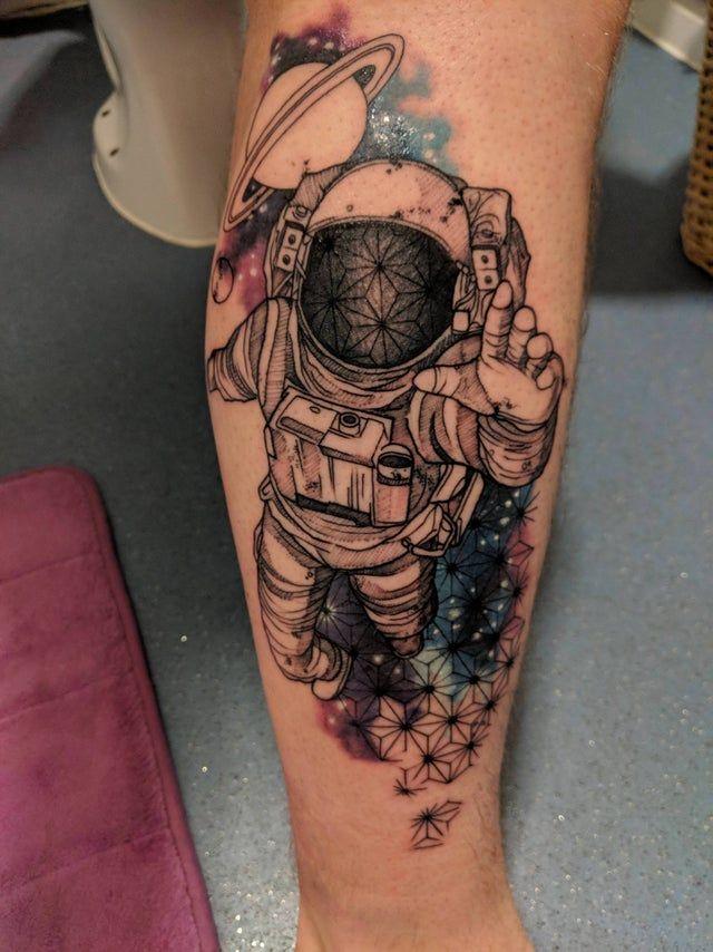 Space Tattoo Ideas 72