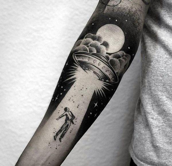 Space Tattoo Ideas 74