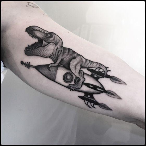 Space Tattoo Ideas 75