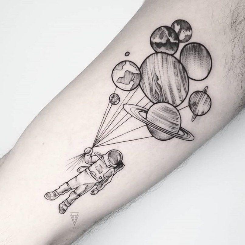 Space Tattoo Ideas 77