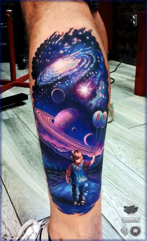 Space Tattoo Ideas 8