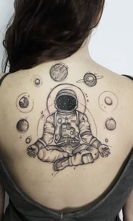Space Tattoo Ideas 89