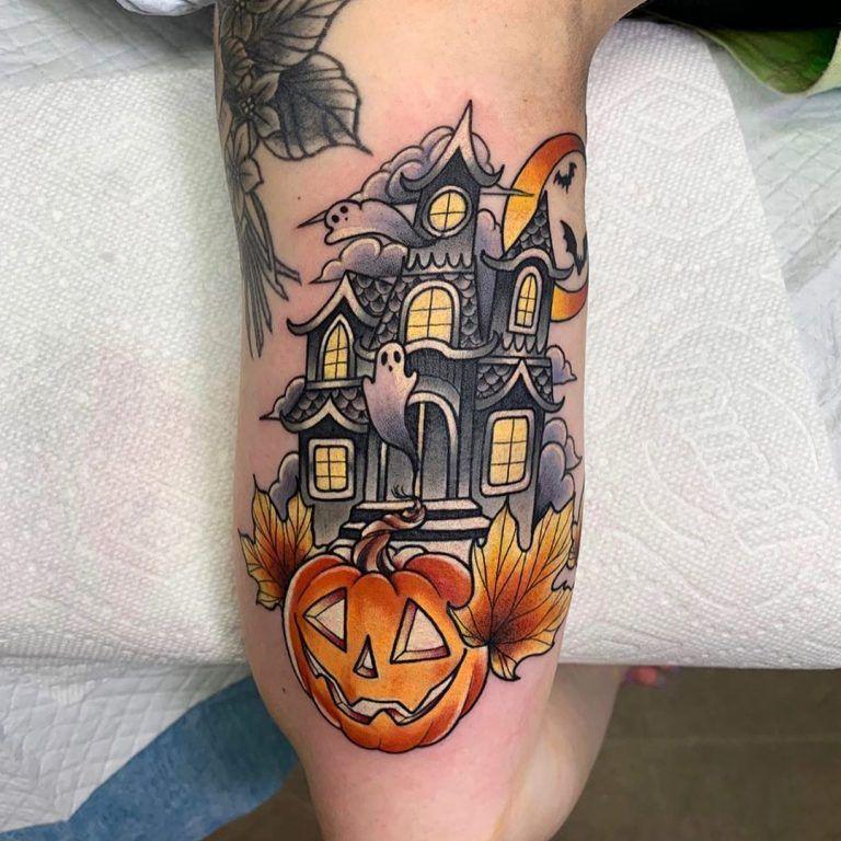 Halloween Tattoo Designs 105