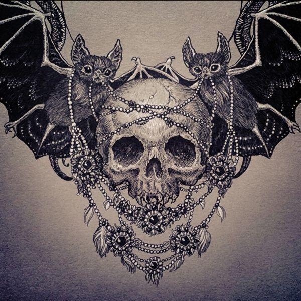 Halloween Tattoo Designs 107