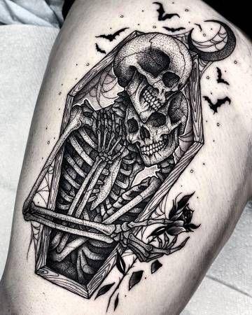 Halloween Tattoo Designs 110