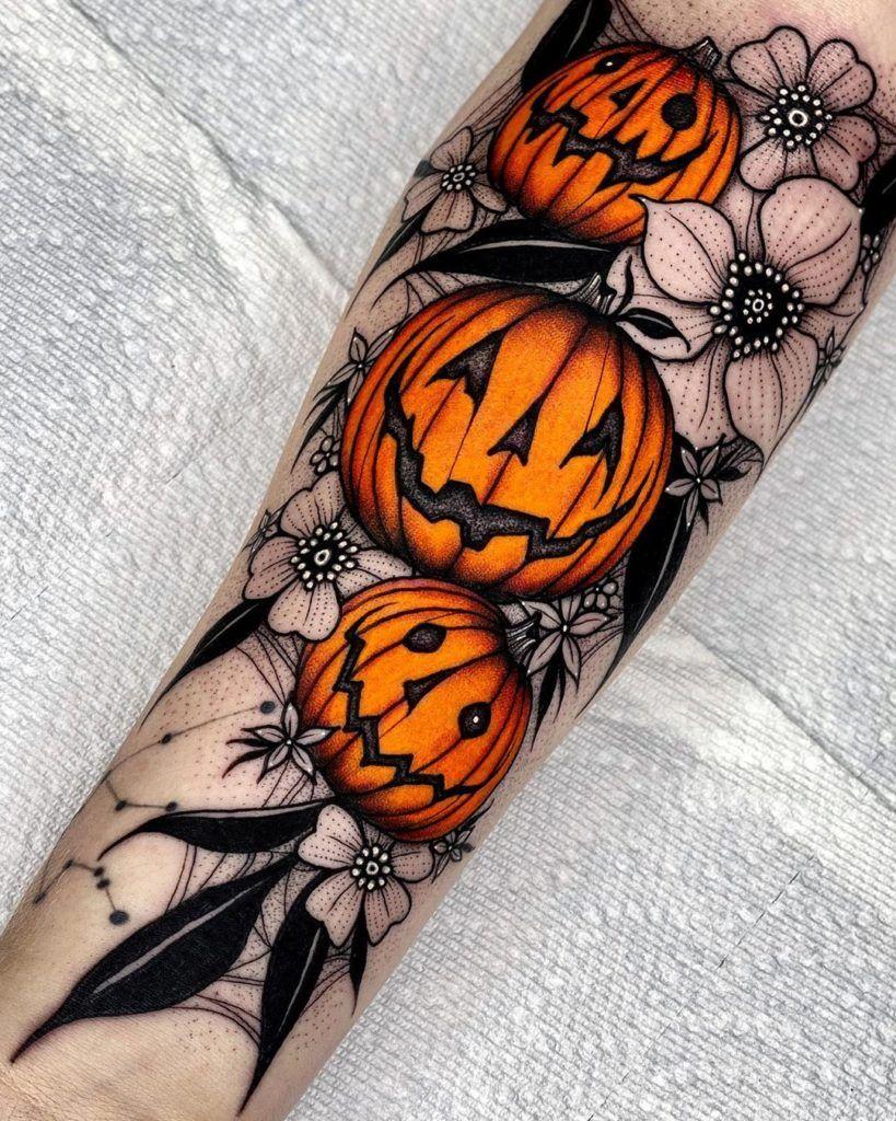 Halloween Tattoo Designs 113