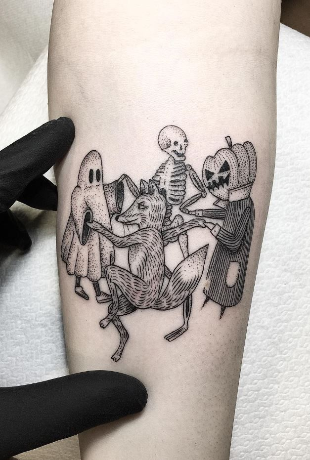 Halloween Tattoo Designs 115