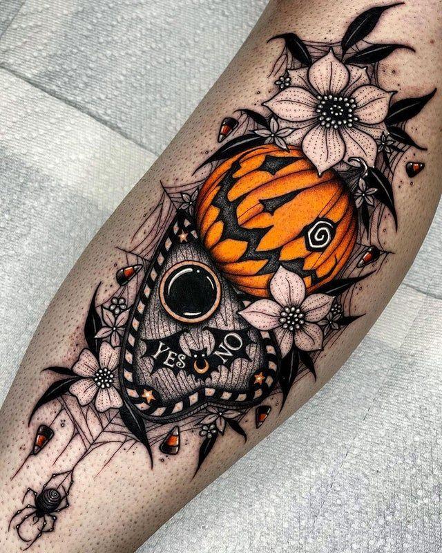 Halloween Tattoo Designs 119