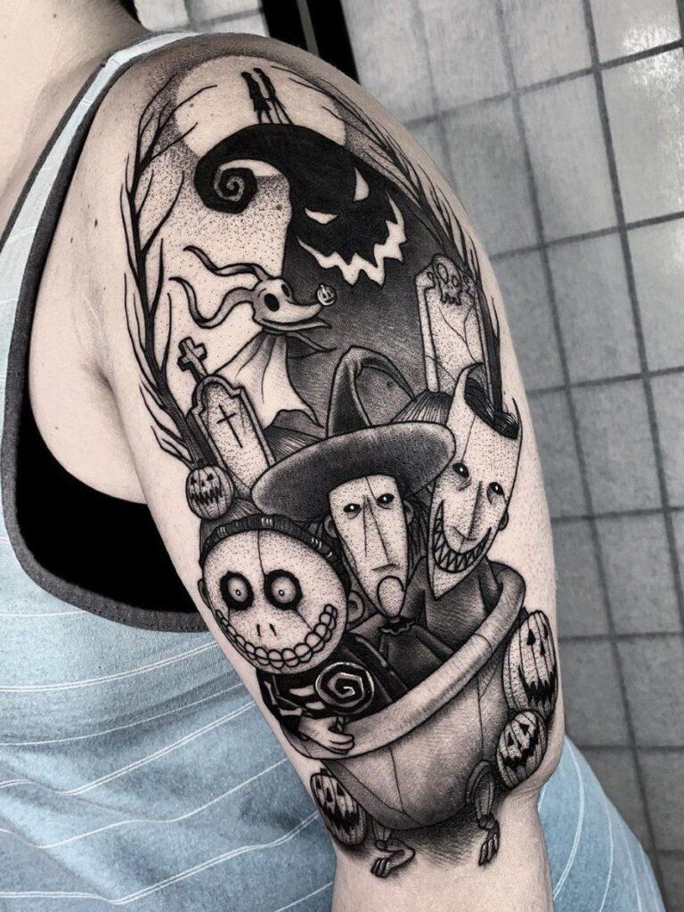 Halloween Tattoo Designs 12
