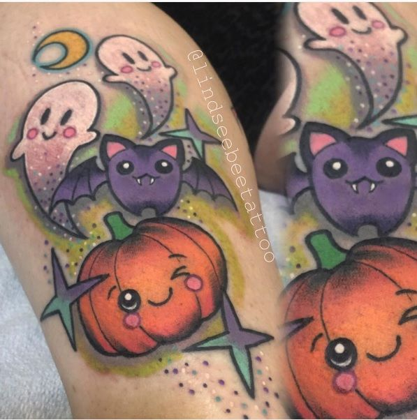 Halloween Tattoo Designs 122