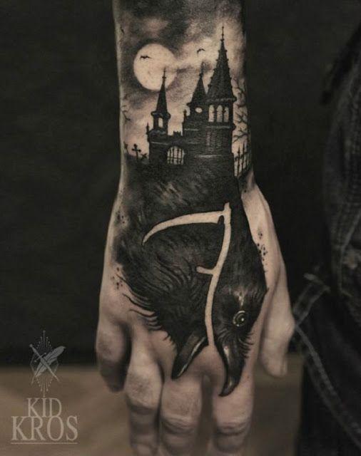 Halloween Tattoo Designs 124
