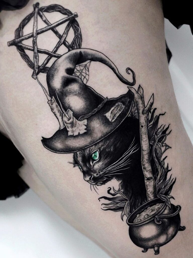 Halloween Tattoo Designs 136