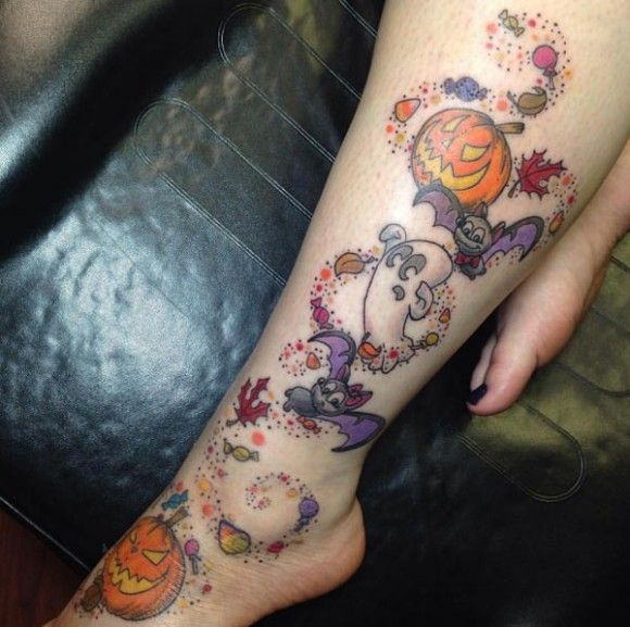 Halloween Tattoo Designs 137