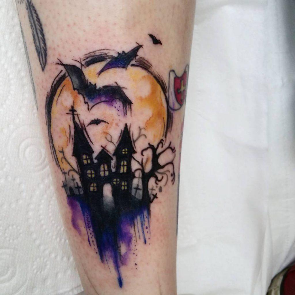 Halloween Tattoo Designs 16