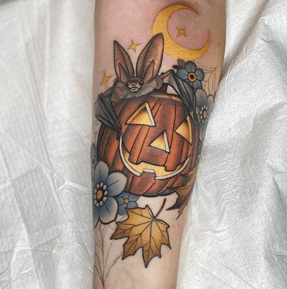 Halloween Tattoo Designs 18
