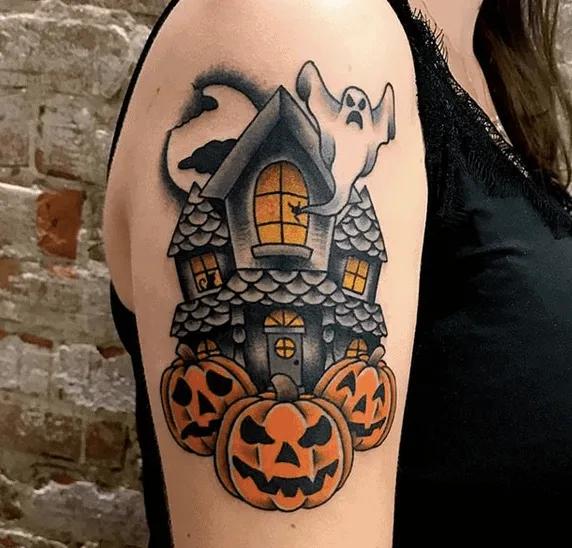 Halloween Tattoo Designs 24