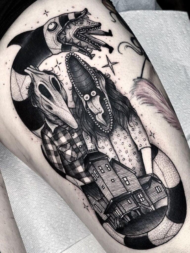 Halloween Tattoo Designs 37