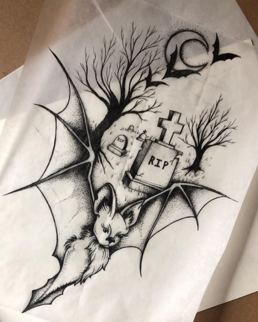 Halloween Tattoo Designs 41