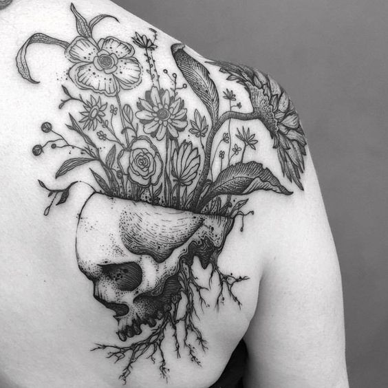 Halloween Tattoo Designs 42