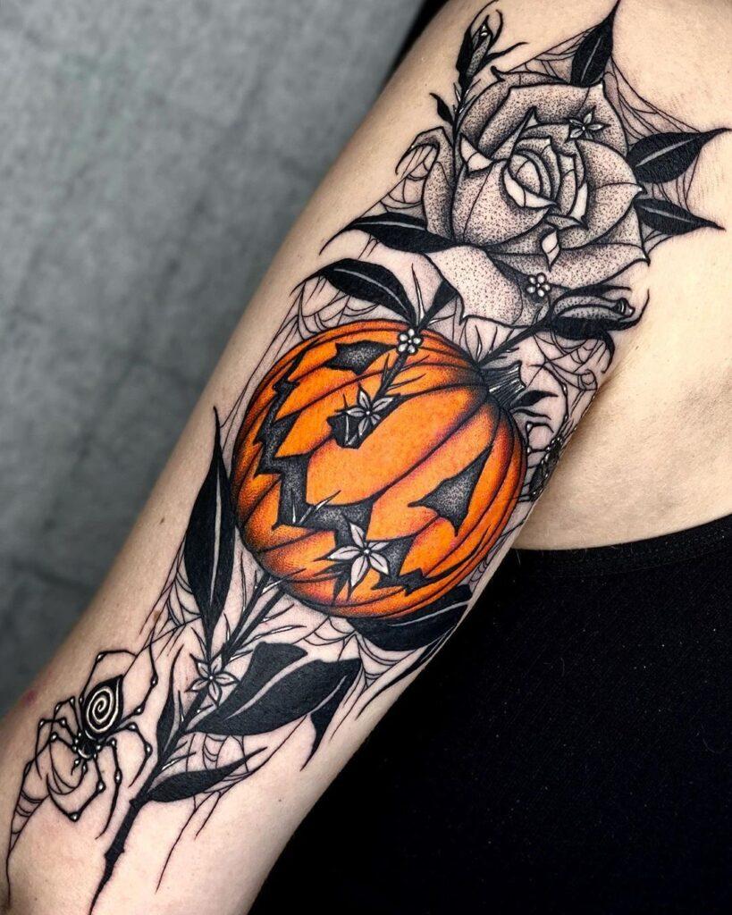 Halloween Tattoo Designs 44