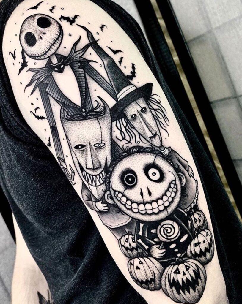 Halloween Tattoo Designs 64