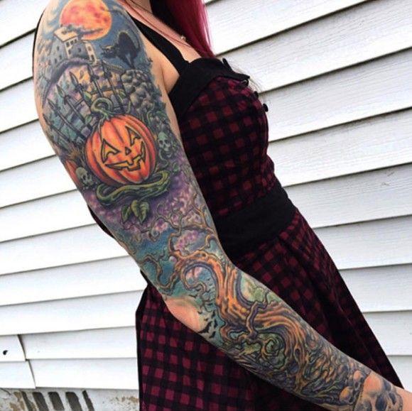 Halloween Tattoo Designs 69