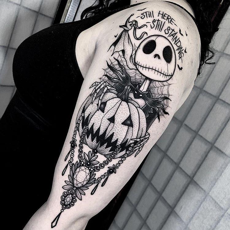 Halloween Tattoo Designs 8