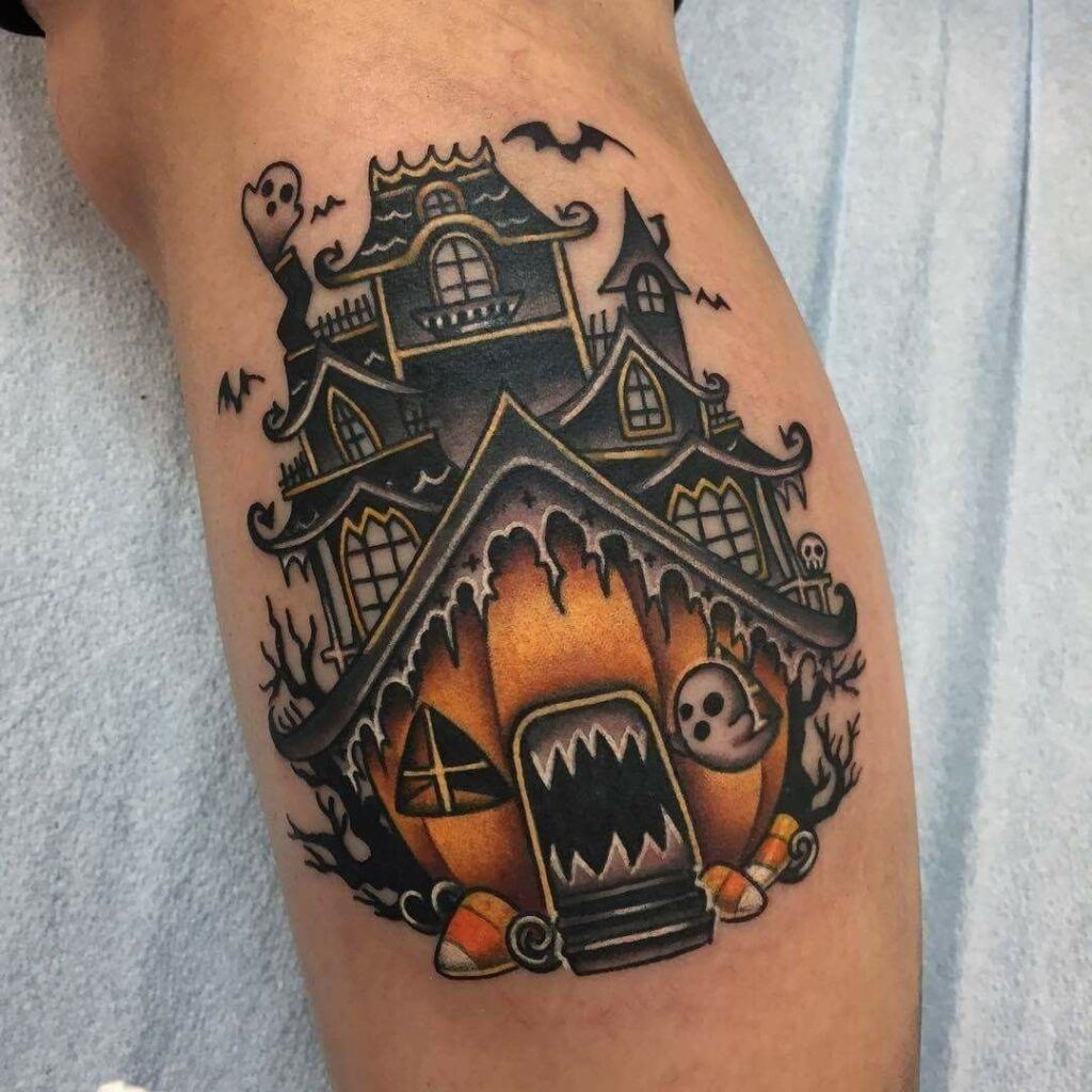 Halloween Tattoo Designs 80