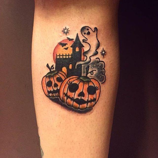 Halloween Tattoo Designs 84