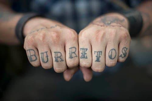 Knuckle Tattoos 1