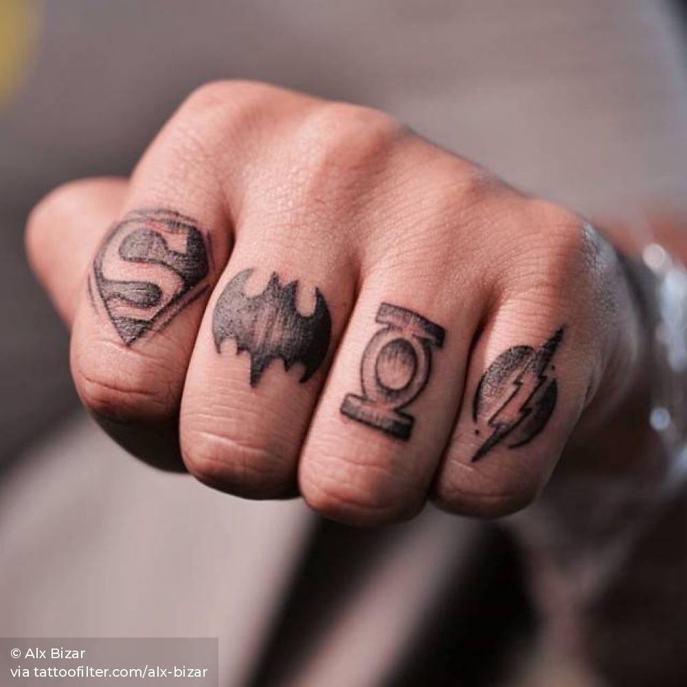 Knuckle Tattoos 100