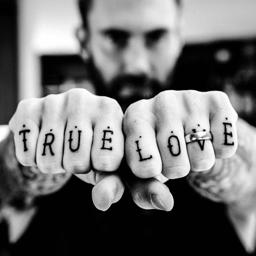 Knuckle Tattoos 113