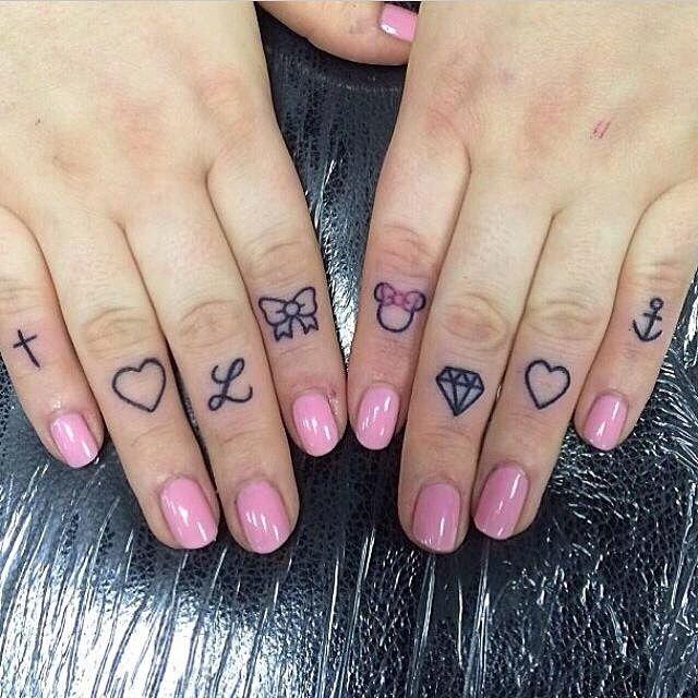 Knuckle Tattoos 117