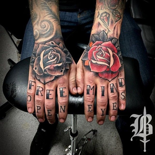 Knuckle Tattoos 118