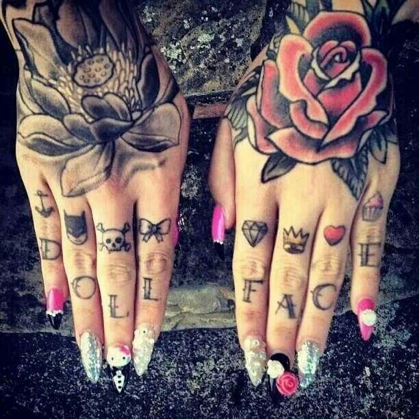 Knuckle Tattoos 121