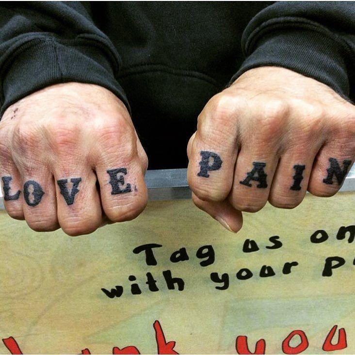 Knuckle Tattoos 125