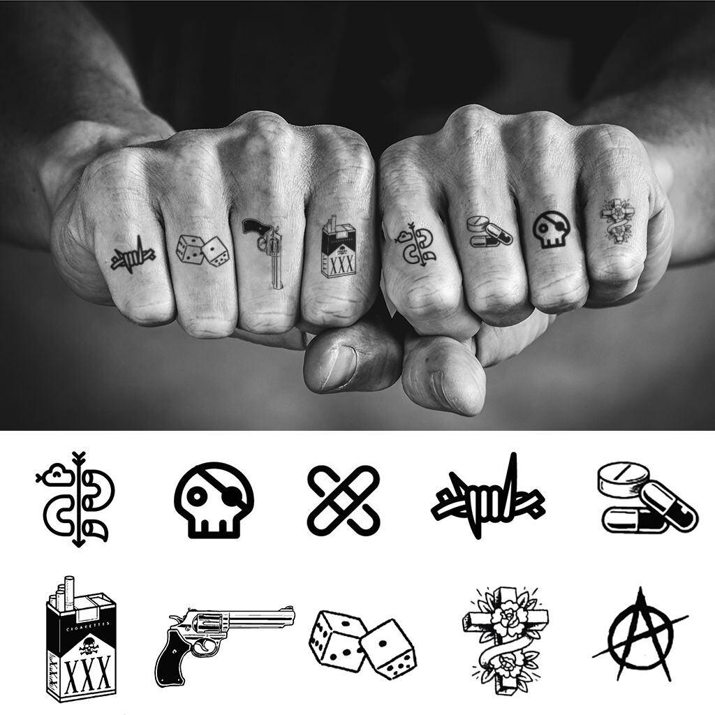 Knuckle Tattoos 139