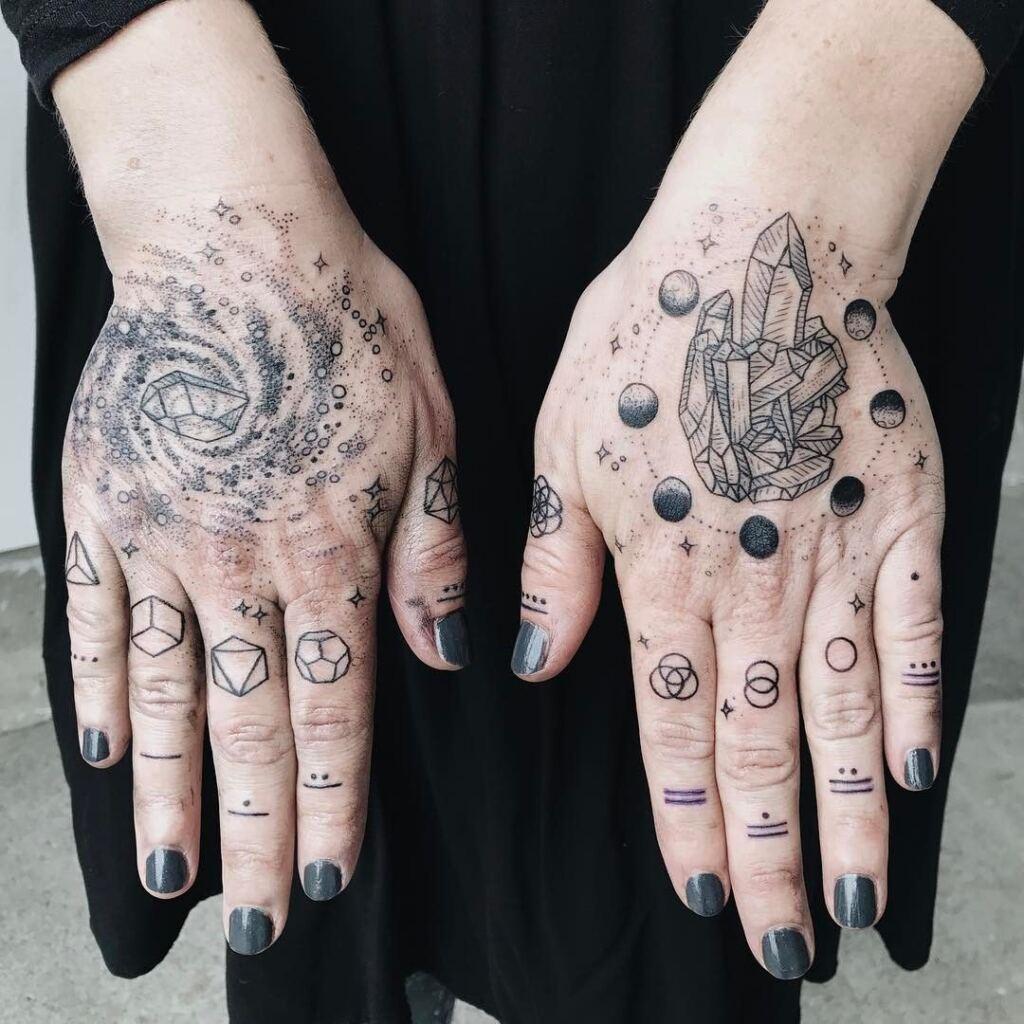 Knuckle Tattoos 149