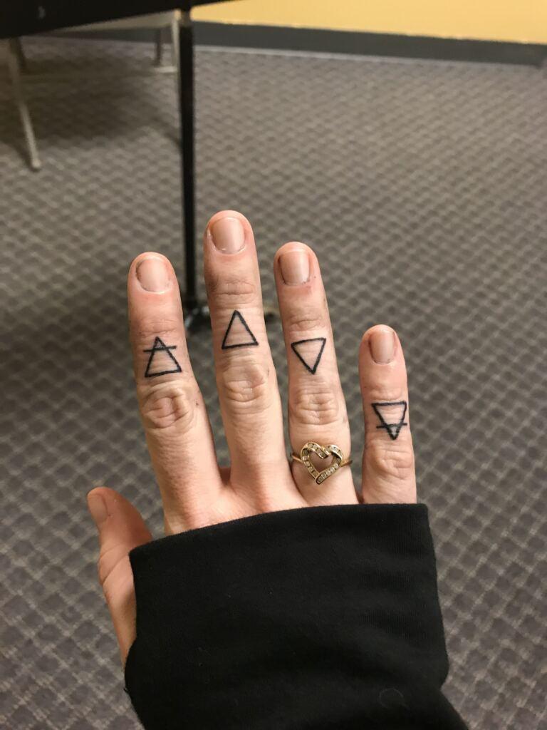 Knuckle Tattoos 163