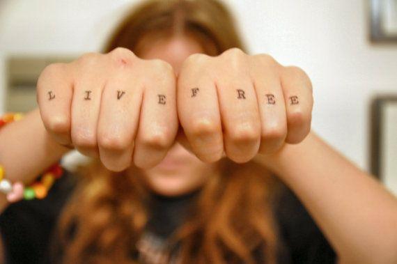 Knuckle Tattoos 175